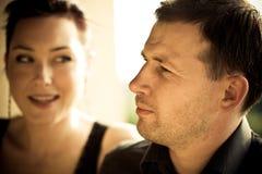 Portrait eines glücklichen Paares Lizenzfreie Stockbilder