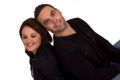 Portrait eines glücklichen Paares Stockbild