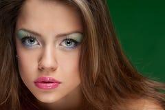 Portrait eines hübschen Mädchens Lizenzfreies Stockfoto