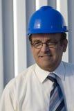 Portrait eines industriellen Feldmessers lizenzfreie stockfotos