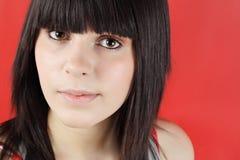 Portrait eines jugendlich Mädchens lizenzfreie stockbilder