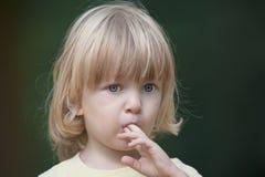 Portrait eines Jungen Stockfoto