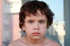 Portrait eines Jungen Stockfotos