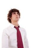 Portrait eines jungen Geschäftsmannes lizenzfreie stockfotografie