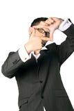 Portrait eines jungen Geschäftsmannes Lizenzfreie Stockbilder