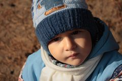 Portrait eines jungen Jungen. Lizenzfreie Stockbilder