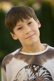 Portrait eines jungen Jungen Stockbild