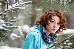 Portrait eines jungen Mädchens Stockfoto