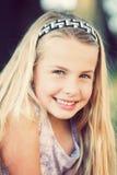 Portrait eines jungen Mädchens Stockbild