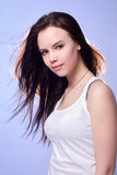 Portrait eines jungen Mädchens Lizenzfreies Stockbild