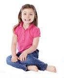 Portrait eines jungen Mädchens Stockbilder