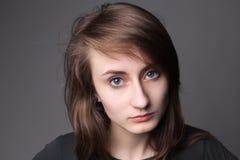 Portrait eines jungen Mädchens Lizenzfreie Stockfotos