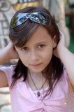 Portrait eines jungen Mädchens Stockfotografie