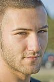 Portrait eines jungen Mannes Stockbild