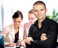 Portrait eines jungen Mannes Lizenzfreies Stockfoto