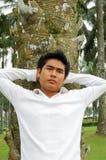 Portrait eines jungen Mannes Lizenzfreie Stockfotos
