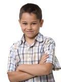Portrait eines kleinen Jungen stockfotos