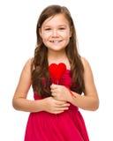 Portrait eines kleinen Mädchens Stockbilder