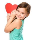 Portrait eines kleinen Mädchens stockfotografie