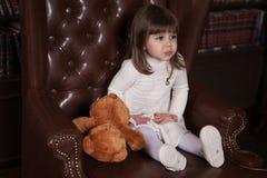 Portrait eines kleinen Mädchens Lizenzfreie Stockfotografie