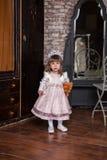 Portrait eines kleinen Mädchens Lizenzfreie Stockfotos