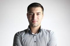 Portrait eines lächelnden Mannes Lizenzfreies Stockbild