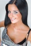 Portrait eines lächelnden Mädchens Stockfotografie