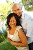 Portrait eines liebevollen Paares Stockfotos
