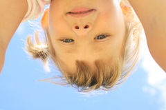 Portrait eines Mädchens Stockfoto