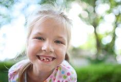 Portrait eines Mädchens Stockfotografie