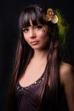 Portrait eines Mädchens Lizenzfreie Stockfotos