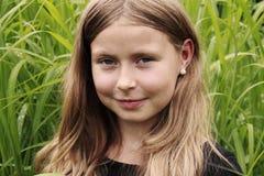 Portrait eines Mädchens Stockfotos