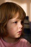Portrait eines Mädchens lizenzfreies stockfoto