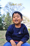 Portrait eines malaysischen Jungen Lizenzfreies Stockfoto