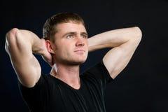 Portrait eines Mannes Stockbilder