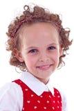Portrait eines netten kleinen Mädchens Lizenzfreie Stockbilder