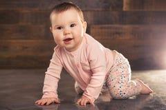 Portrait eines netten kleinen Schätzchens Stockbilder