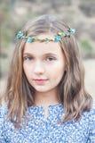 Portrait eines netten Mädchens Lizenzfreie Stockfotos