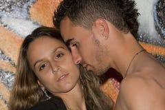 Portrait eines Paares Stockfotografie