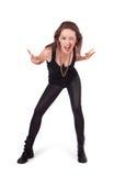 Portrait eines Punkmädchens Lizenzfreies Stockfoto