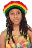 Portrait eines rasta Jungen stockbilder