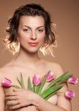Portrait eines schönen Gi Lizenzfreie Stockfotos