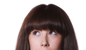Portrait eines schönen Jugendlichen Lizenzfreies Stockbild