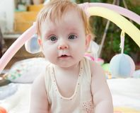 Portrait eines schönen Kindes Stockbild