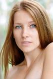 Portrait eines schönen Mädchens Lizenzfreies Stockbild