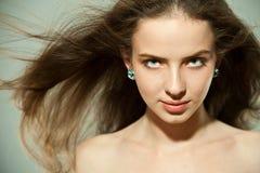 Portrait eines schönen Mädchens Lizenzfreie Stockfotos