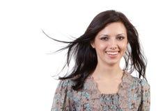 Portrait eines schönen reizvollen Mädchens Lizenzfreie Stockbilder