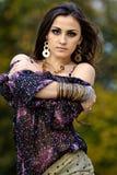 Portrait eines schönen Mädchens Lizenzfreies Stockfoto