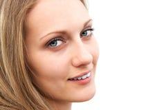 Portrait eines schönen Mädchens. Lizenzfreies Stockbild