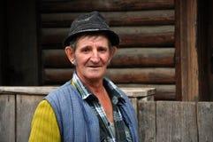 Portrait of an elder man Stock Image